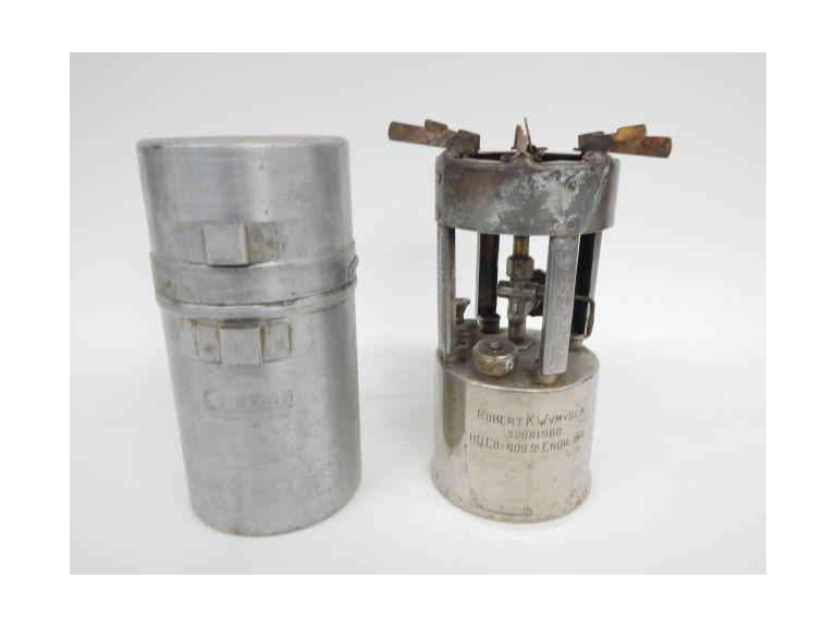 Military Coleman Stove