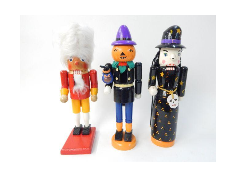 Tall Wooden Nutcrackers