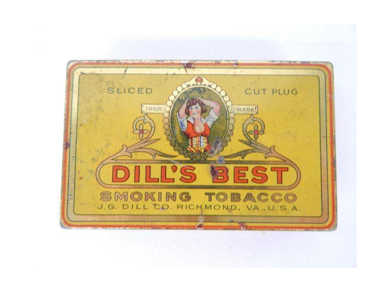 Small Vintage Tobacco Tin