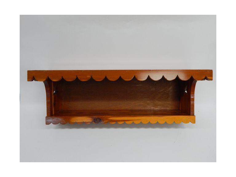 Cedar Wood Wall Shelf