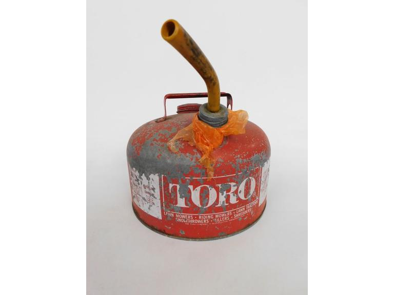 Toro Advertising Fuel Can