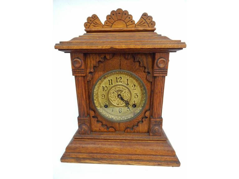 Antique 1800's Mantle Clock