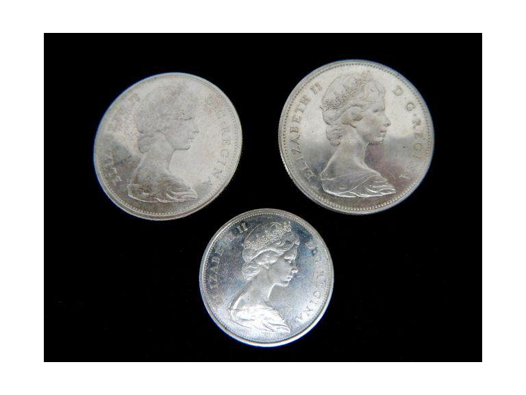 Canadian Silver Dollar Coins