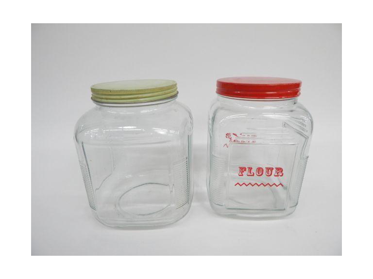 Vintage Decanter Jars