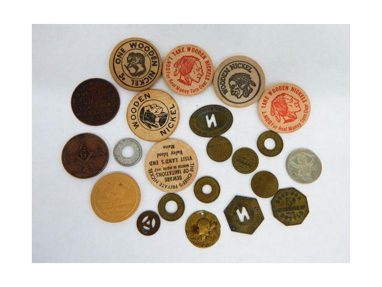 Tokens & Wooden Nickels