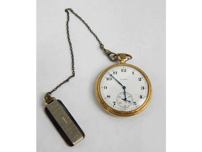 Gold Elgin Pocket Watch