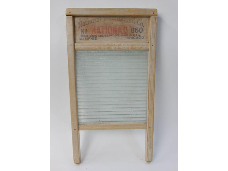 National Glass Washboard