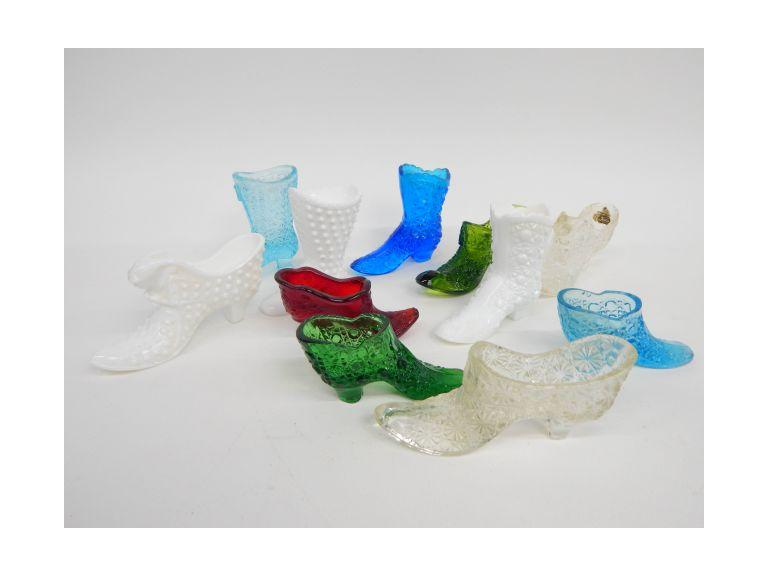 Fenton Glass Shoes