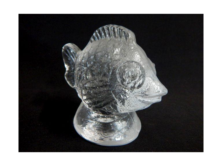 Glass Fish Paperweight