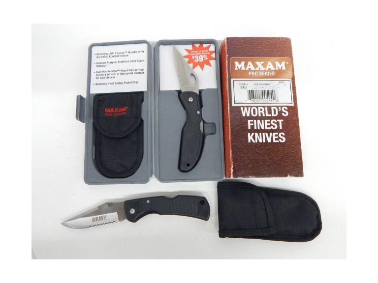 Maxam Pocket Knives