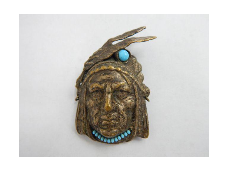 Native American Brooch