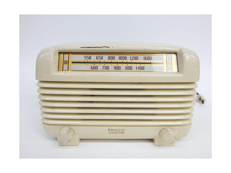 Philco Transitone Tube Radio