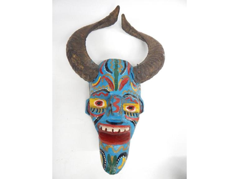 Hand Crafted Wood Mask