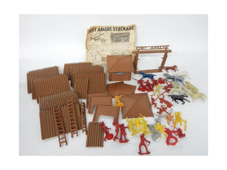 Marx Fort Apache Toys