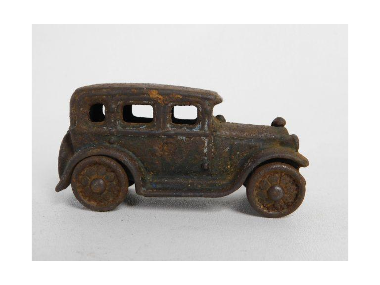 Little Cast Iron Car