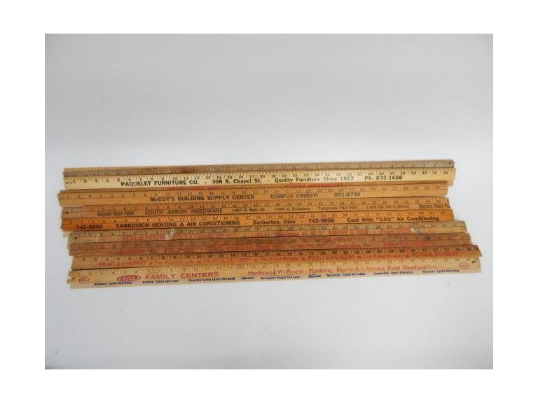 Wooden Yard Sticks