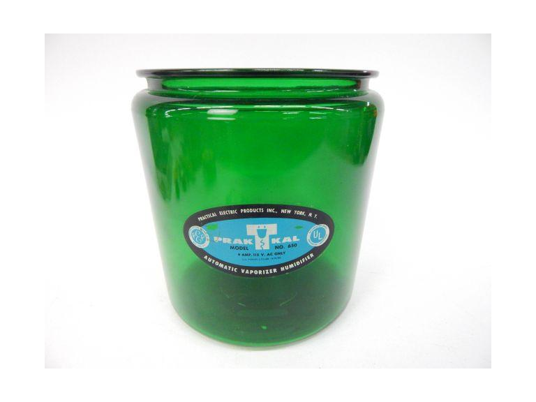 Green Vaporizer Jar