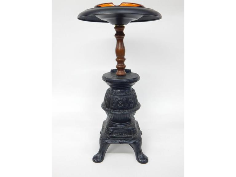 Wood Stove Ashtray Stand