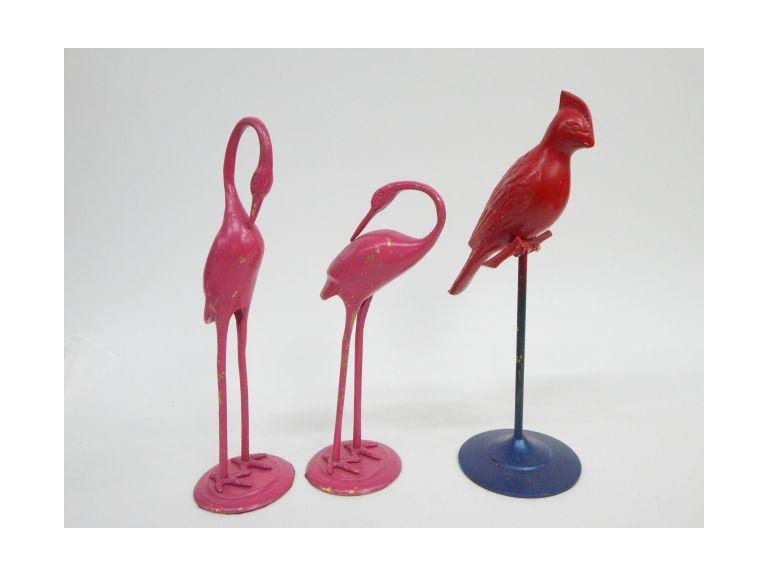 Brass Bird Figurines