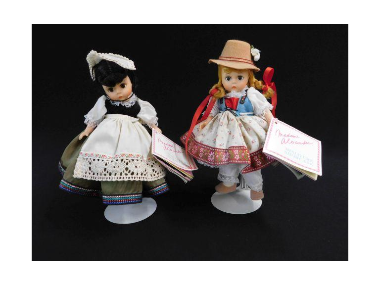 Madame Alexander Miniature Showcase Dolls