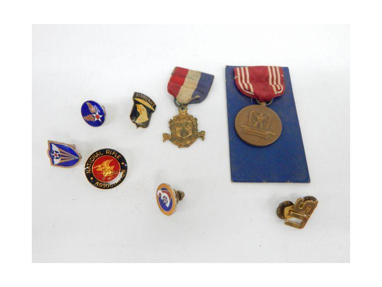 Military Awards and Pins