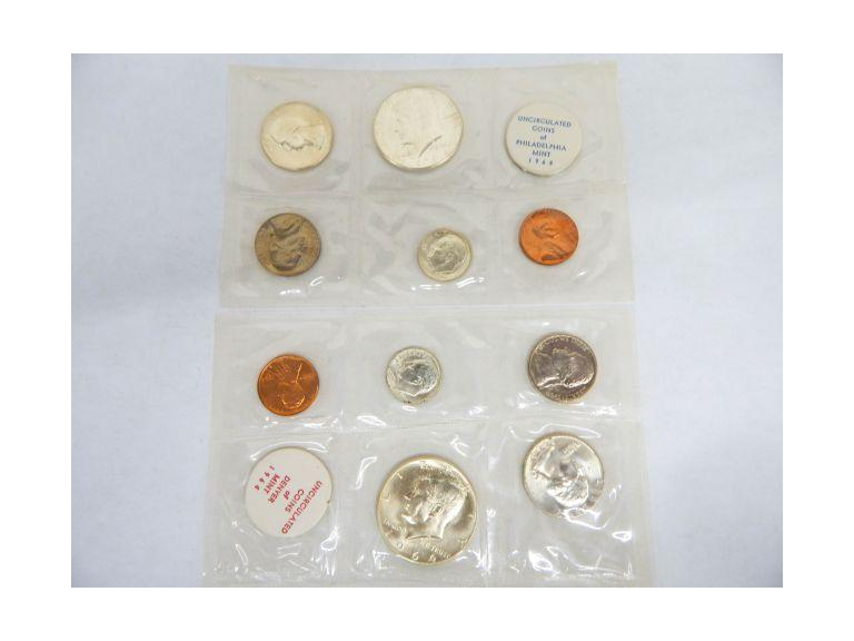 1964 Mint Coin Sets