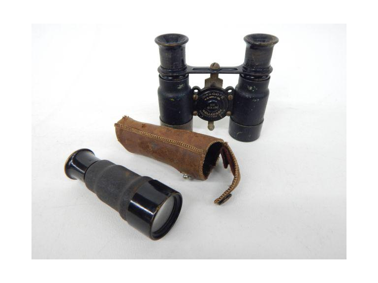 Old Binoculars & Spy Scope