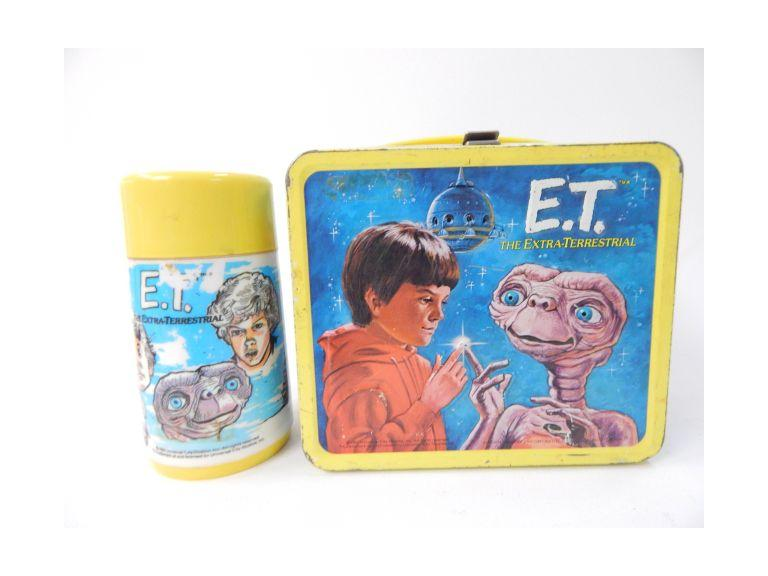 E.T. Metal Lunch Box
