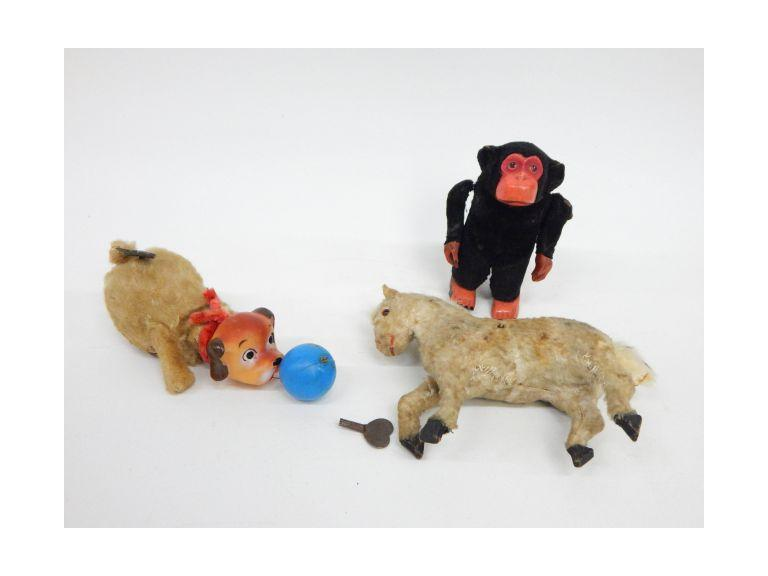 Wind-Up Animal Toys