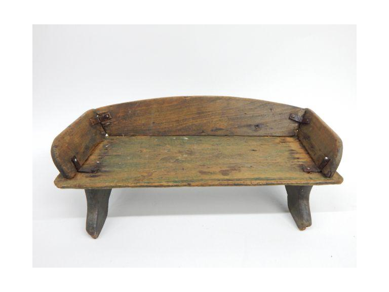 primitive Goat Cart Seat
