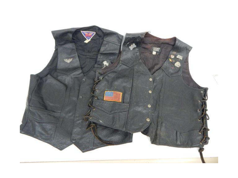 Leather Riding Vests