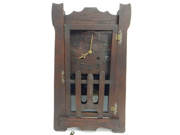Arts & Craft Mantle Clock