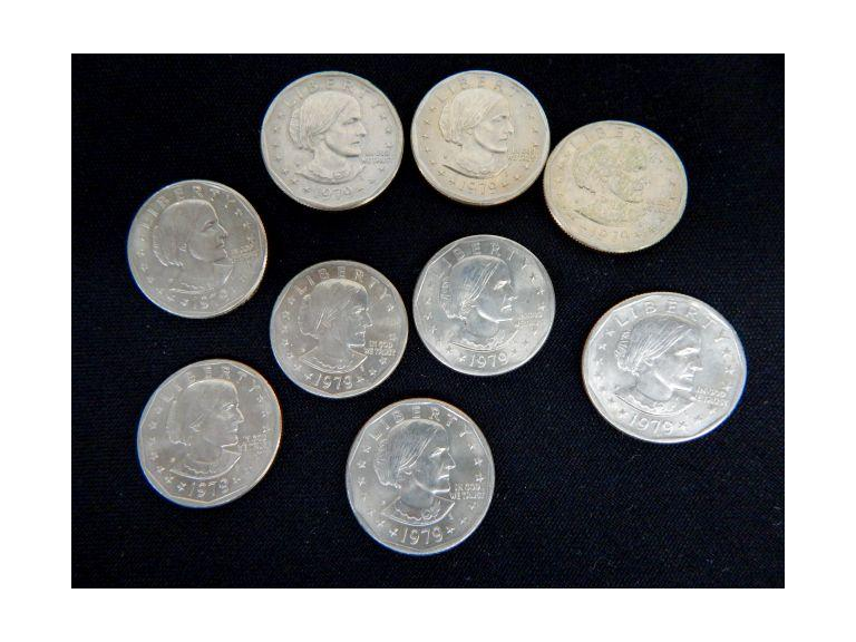 Susan B. Anthony Coins