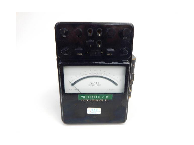 Single Phase Watts Tester