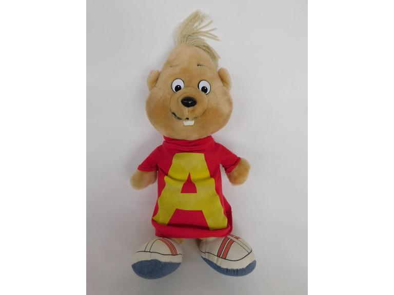 1983 Talking Alvin Plush Doll