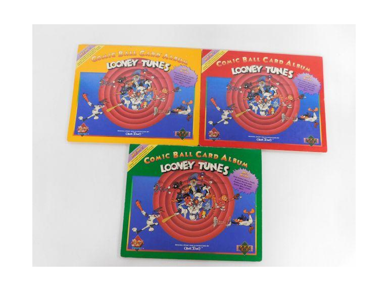 Looney Tunes Upper Deck Comic Ball Cards