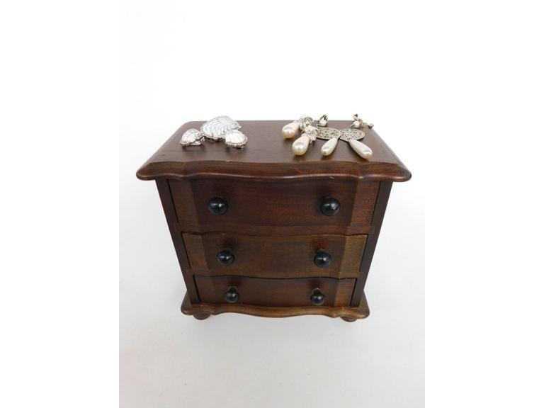 3 Drawer Smaller Jewelry Chest