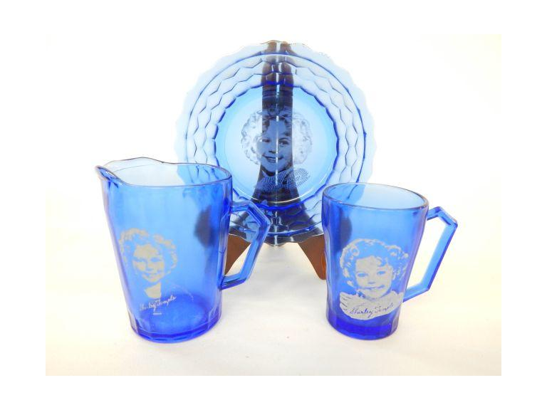 Shirley Temple Glass Set