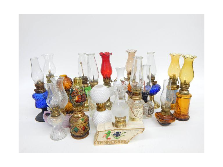 Miniature Oil Lamps