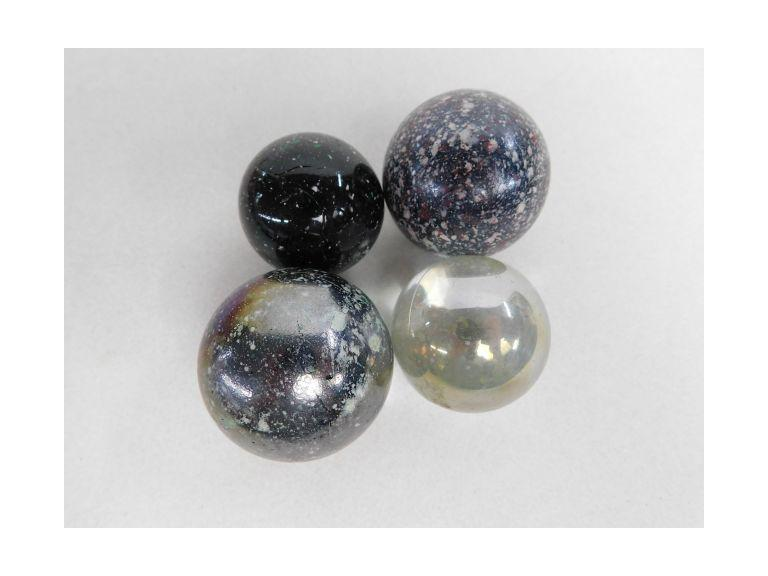 5 Large Size Shooter Marbles