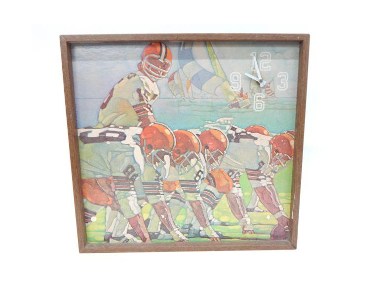 Cleveland Browns Clock