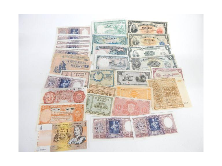 Foreign Paper Money