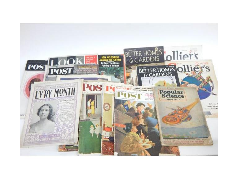 Vintage Magazine Collection