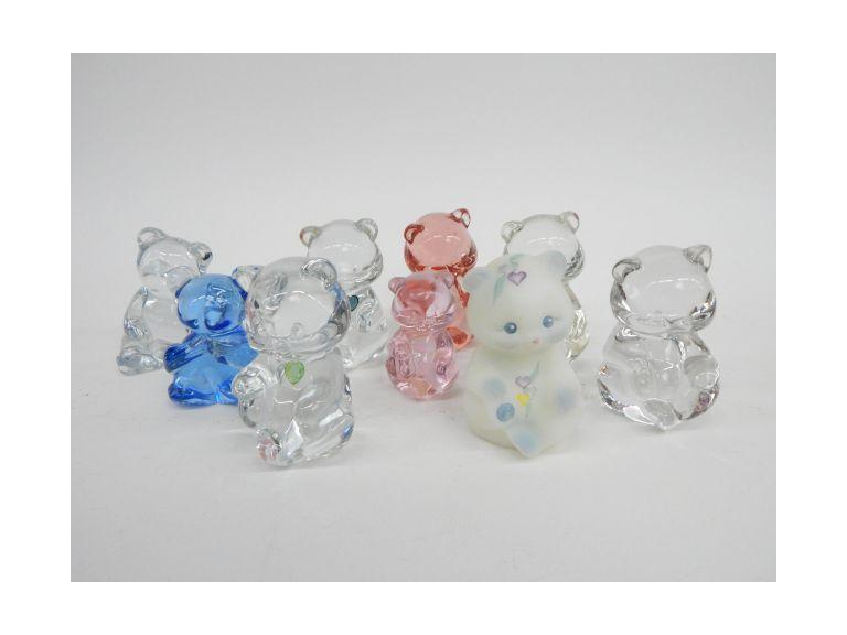 Fenton Glass bears