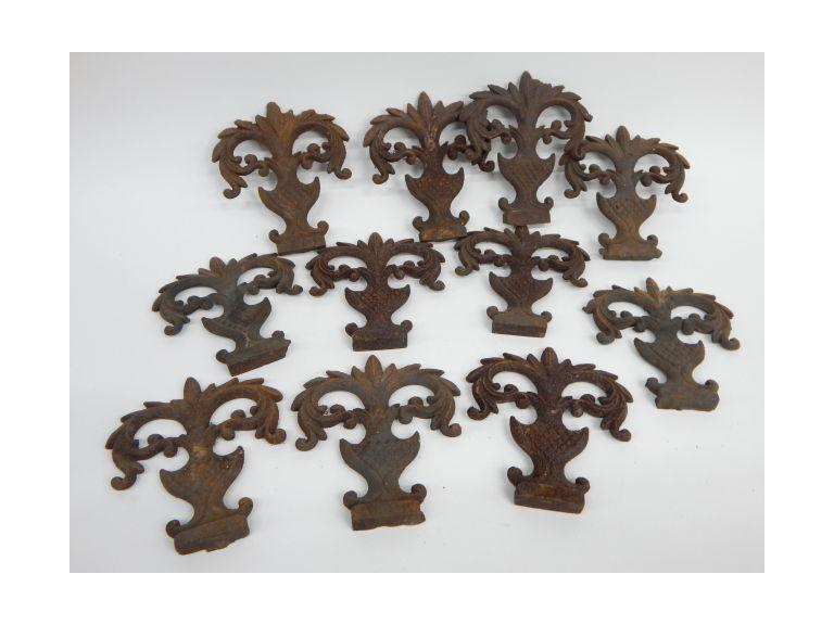 Antique Iron Finials