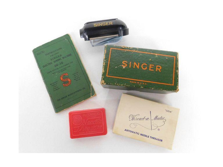 Singer Sewing Machine Items