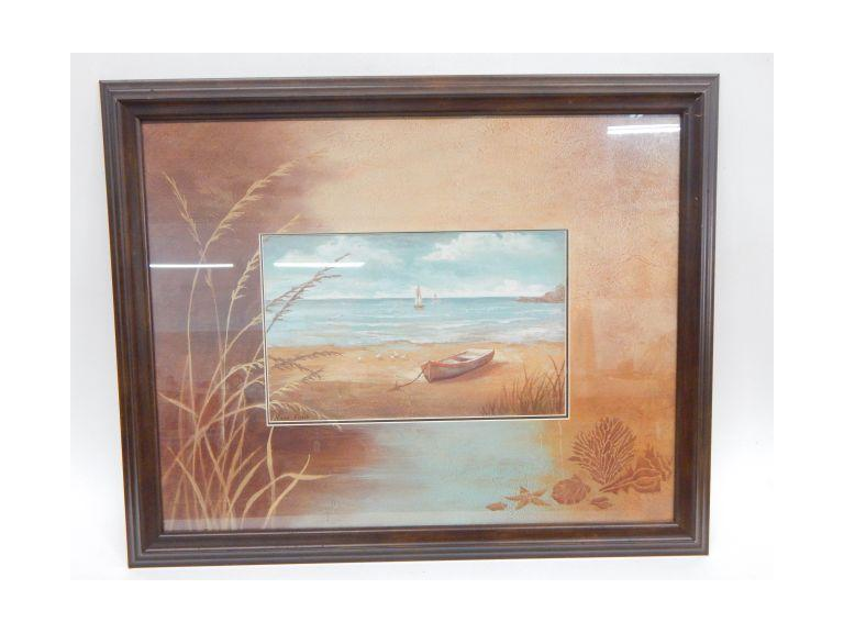 Framed Beach Image