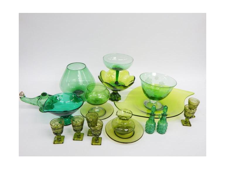 Green Glass Collection
