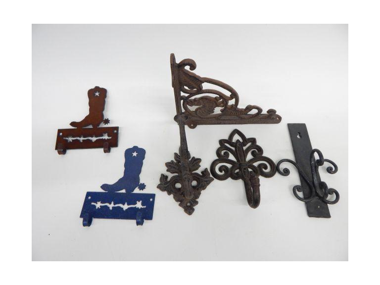Iron & Steel Wall Hooks