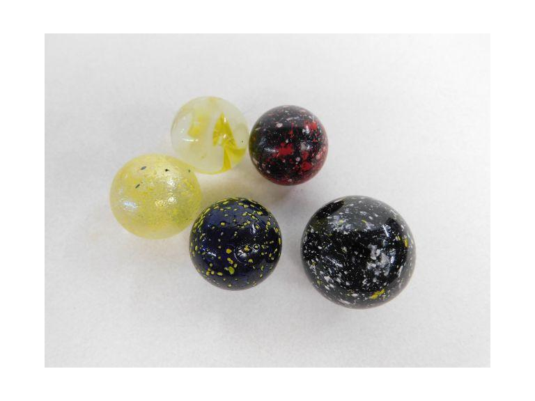 5 Medium Size Shooter Marbles
